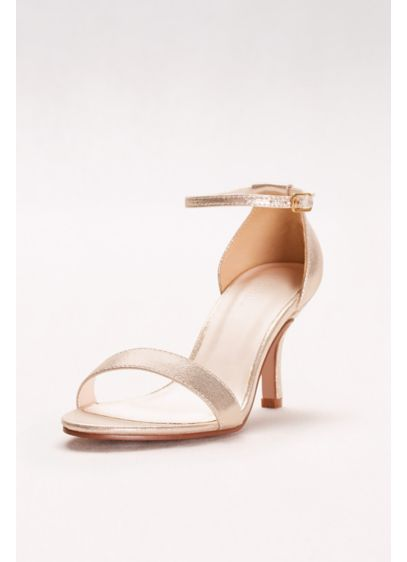 David's Bridal Grey (Single Strap Sandal)
