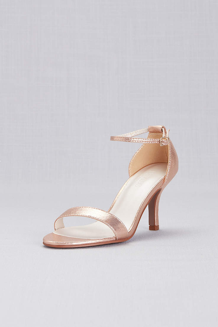 f00edf091f Women's Rose Gold Shoes & Heels | Blush Metallic | David's Bridal