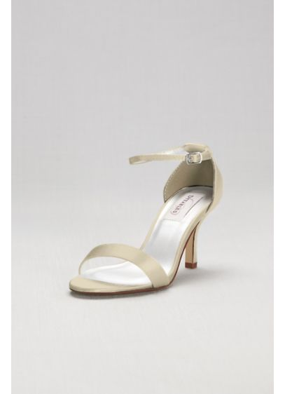 Dyeables White (Dyeable Single Strap Sandal)
