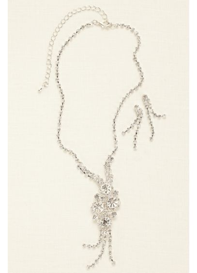Cluster Y Necklace Set - Wedding Accessories