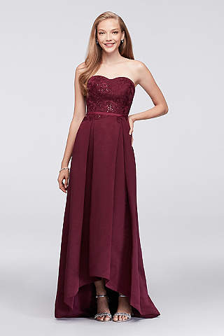 Red Homecoming and Prom Dresses: Long & Short Styles | David\'s Bridal