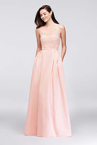 Pink Prom Dresses: Hot & Light Pink | David\'s Bridal