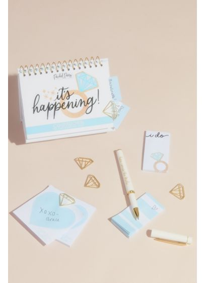 Bride to Be Stationery Kit - Take care of your official bridal business with