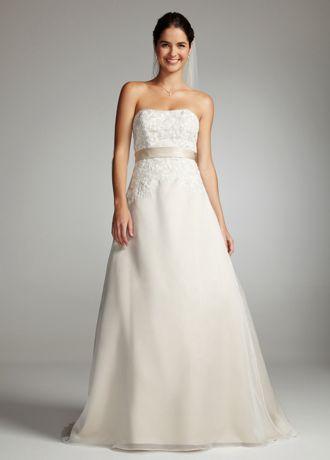 Champagne Lace Bridesmaid Dress