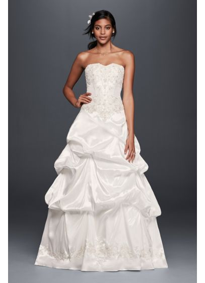 Long Ballgown Formal Wedding Dress David S Bridal Collection