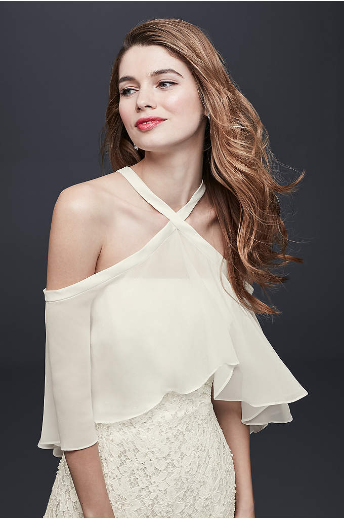 Convertible Chiffon Topper - An easy way to change up your look,
