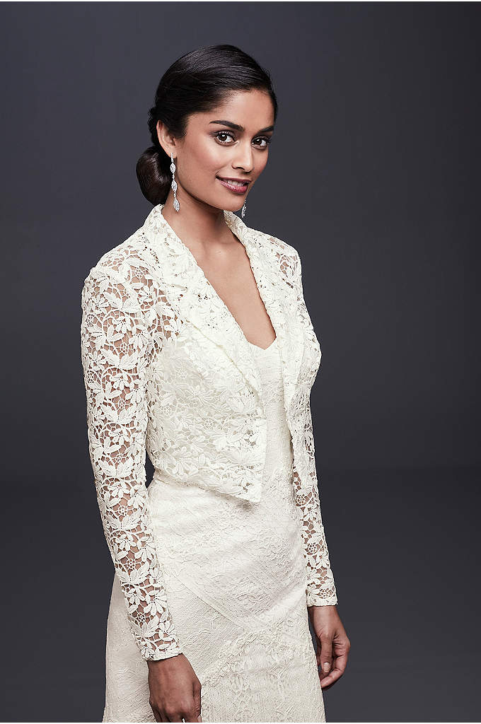 Wedding Jackets, Shawls, & Bridal Wraps | David\'s Bridal