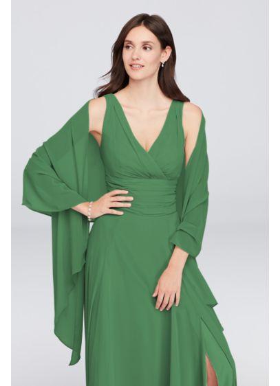 David's Bridal Green (Chiffon Sheer Wrap)