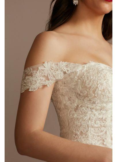 Lace Applique Detachable Swag Sleeves - Wedding Accessories
