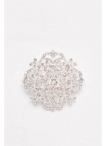 Filligree Crest Sash Slider - Wedding Accessories