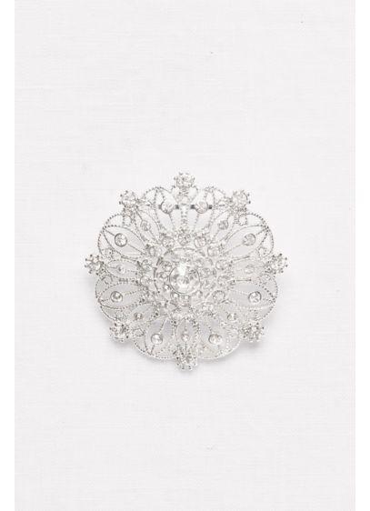 Round Filigree Sash Slider - Wedding Accessories