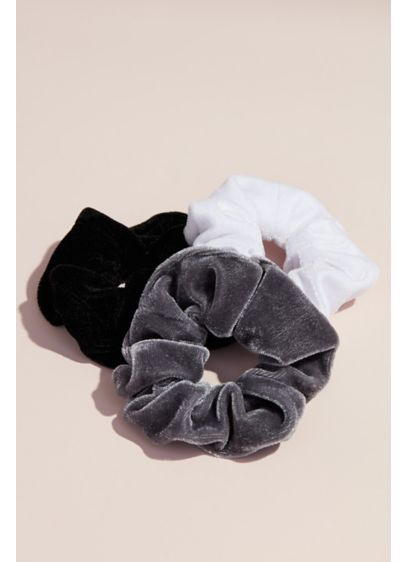 Velvet Scrunchies Set - Wedding Accessories
