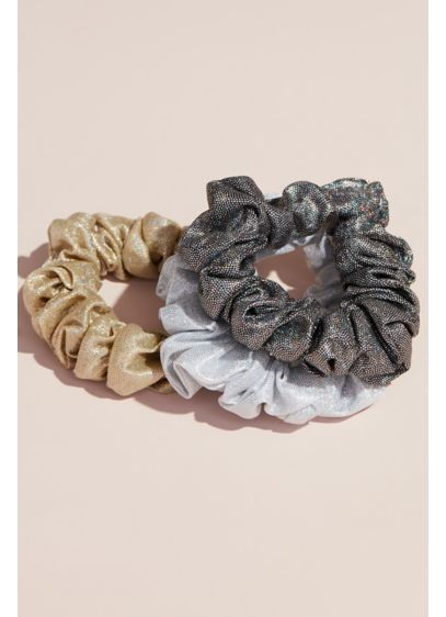 Metallic Scrunchies Set - Wedding Accessories