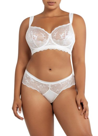 Parfait Vanessa Scalloped Lace Bra - Wedding Accessories