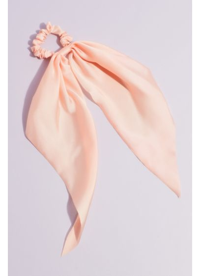 Pink (Satin Scarf Scrunchie)