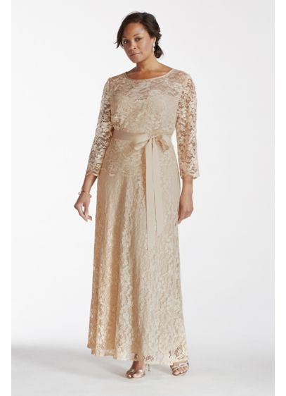 Long A-Line 3/4 Sleeves Formal Dresses Dress - Patra