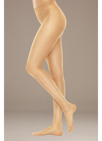 Hanes Perfect Nudes Light Tummy Control Hose - Sheer from waist to toe, this barely there