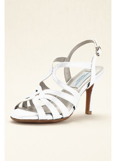 Dyeables White (Dyeable Comfort Collection Strappy Sandal)