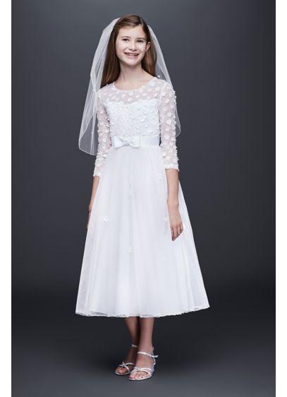 Short A-Line Long Sleeves Dress - Bonnie Jean