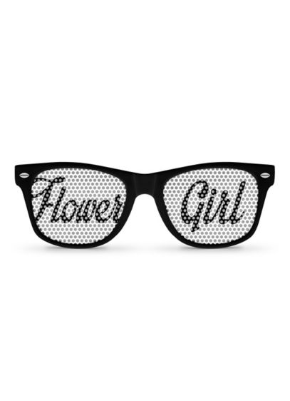 White (Personalized Flower Girl Sunglasses)
