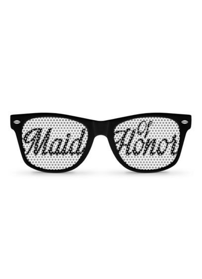 Personalized Maid of Honor Sunglasses - You're one of a kind and your sunglasses