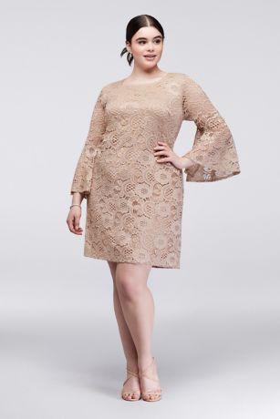 Plus Sizes Lace Evening Dresses
