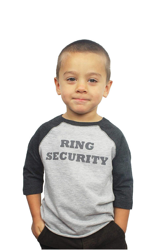 Ring Security Shirt - This baseball style Ring Security Shirt is super