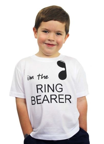 I'm The Ring Bearer Hashtag Nailed it Tee - Your wedding party is sure to get a