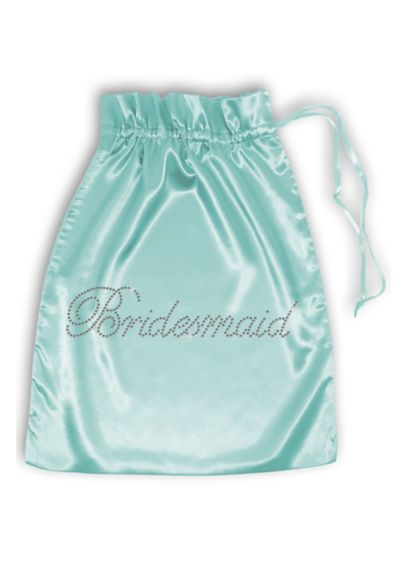 Rhinestone Bridesmaid Satin Bag - Wedding Gifts & Decorations