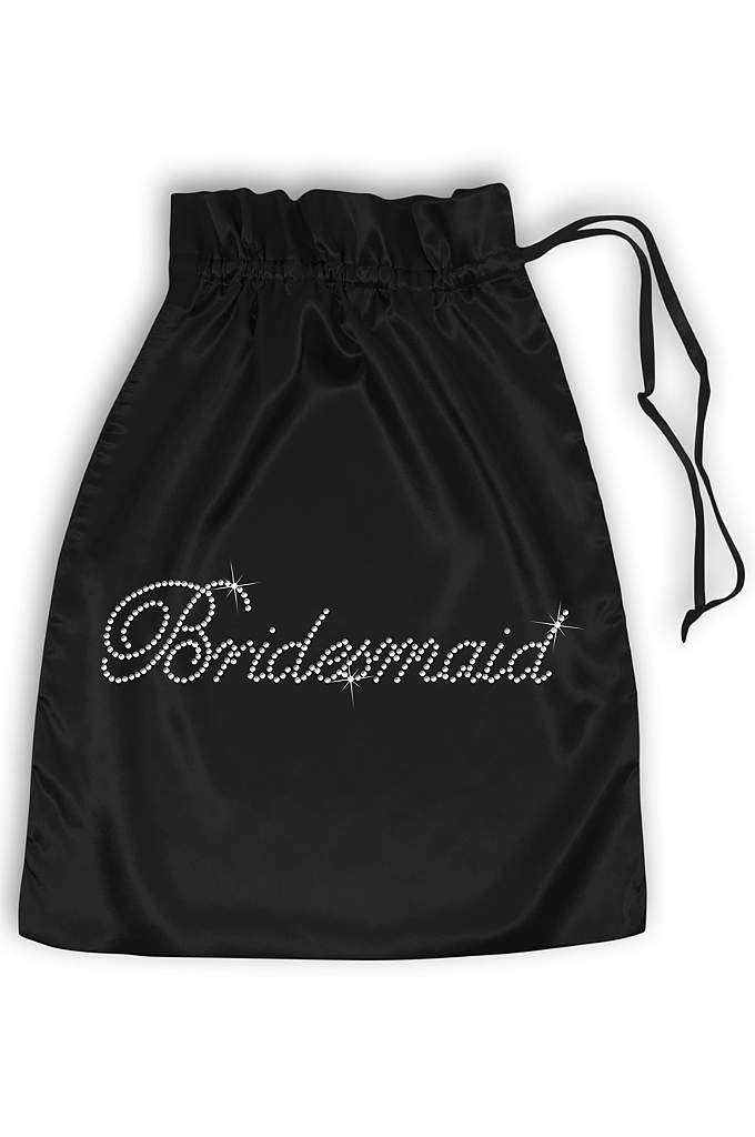Rhinestone Bridesmaid Satin Bag