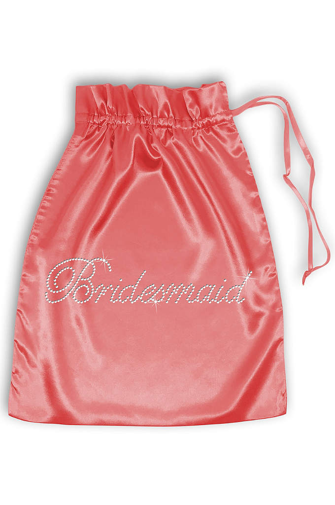 Rhinestone Bridesmaid Satin Bag
