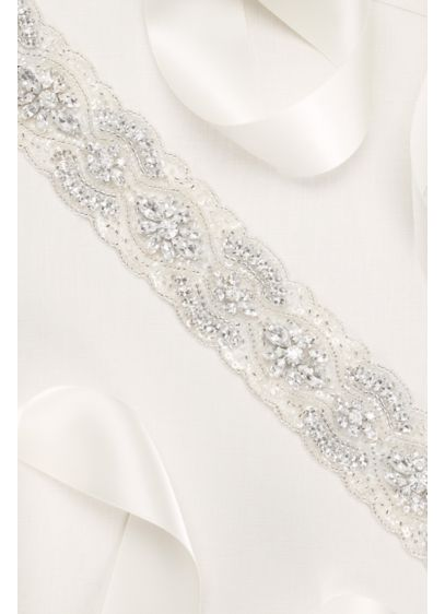 Scallop Beaded Sash - Wedding Accessories