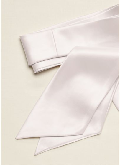 Versatile Long Satin Sash - Wedding Accessories