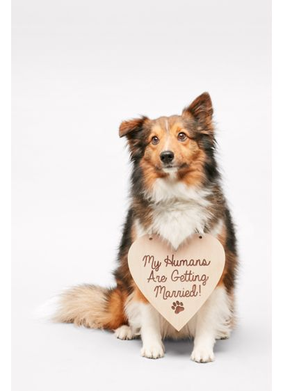 My Humans Are Getting Married Sign - Wedding Gifts & Decorations