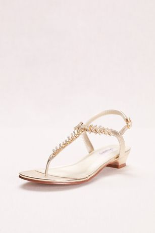 Touch Ups Grey;Yellow Sandals (Touch Ups Sarah Strappy Thong Sandal)