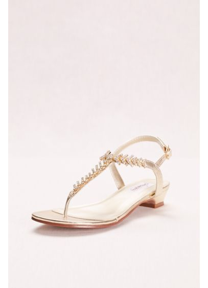 Touch Ups Sarah Strappy Thong Sandal - Sarah is a thong sandal with a 1