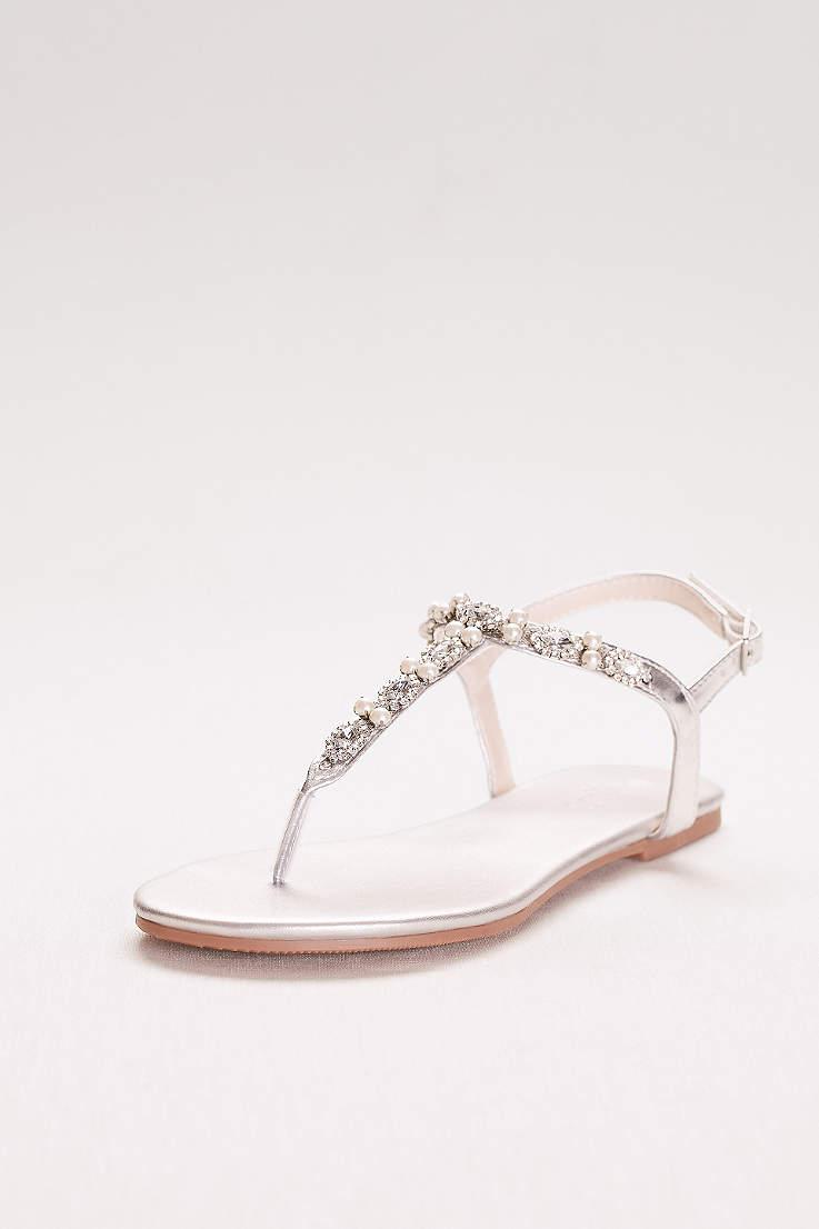 b329dc38a0244 Women's Silver Heels & Dress Shoes for Weddings, Prom | David's Bridal