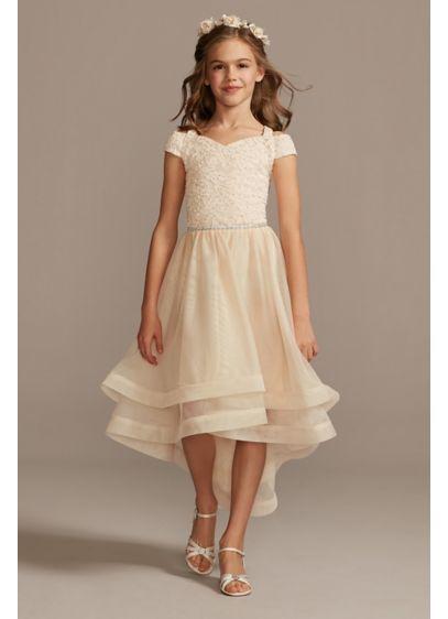 High Low A-Line Short Sleeves Dress - Speechless