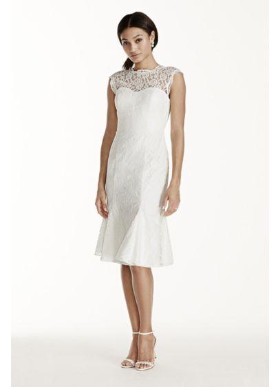 Short A Line Beach Wedding Dress Db Studio