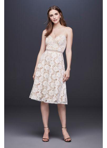 Short A Line Boho Wedding Dress Db Studio