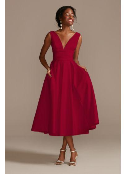 Midi Ballgown Casual Wedding Dress - DB Studio