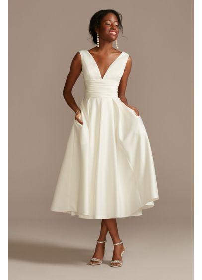 Short Ballgown Casual Wedding Dress - DB Studio