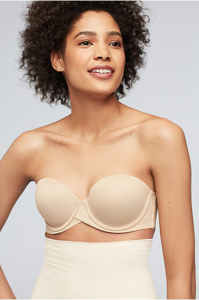 Maidenform Stay Put Strapless Bra - A strapless bra that won't budge is a