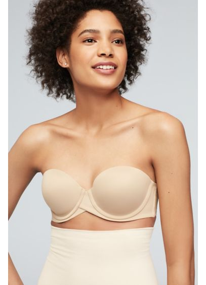 Maidenform Beige (Maidenform Stay Put Strapless Bra)