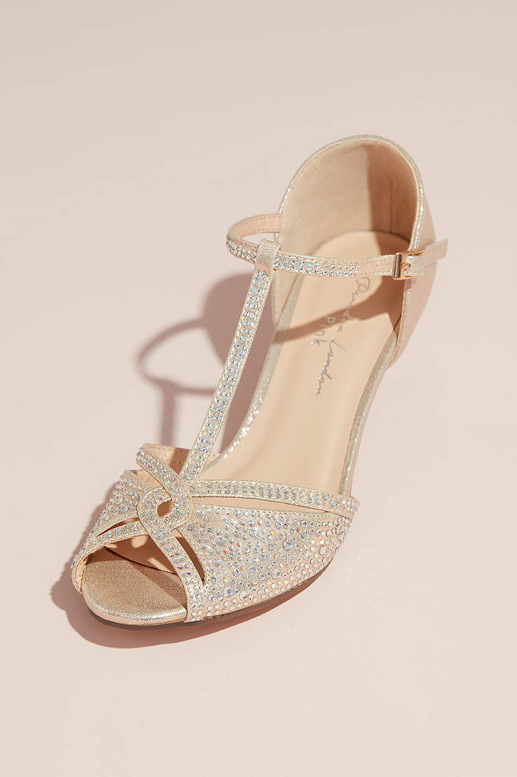 fd3b470badf01 Champagne Shoes: Heels, Flats and Sandals in Champage Gold | David's ...
