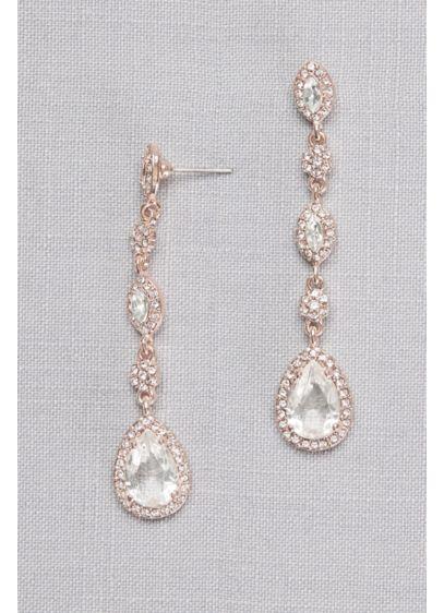 Crystal Cer Drop Earrings Wedding Accessories