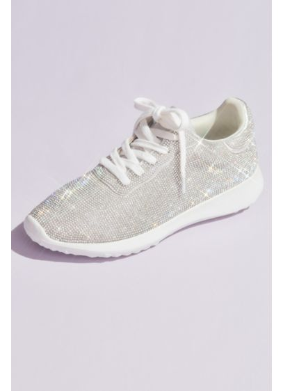 Crystal Encrusted Running Shoes - Blingy sparkle? Check. Mega comfort? Check, check! Just