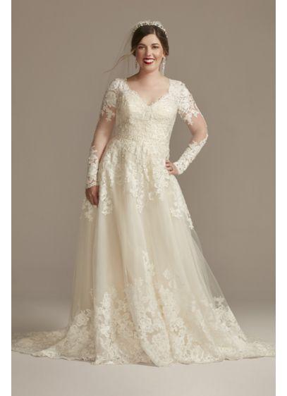 Long Ballgown Wedding Dress - David's Bridal
