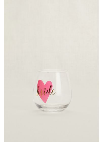 Bride Stemless Wine Glass - Wedding Gifts & Decorations
