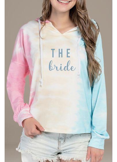 The Bride Tie Dye Sweatshirt - Get cozy in this tie-dye hooded sweatshirt, featuring